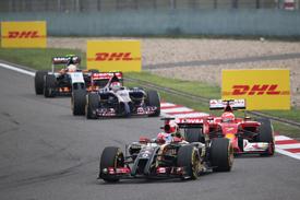Lotus now 'second-best' Renault team