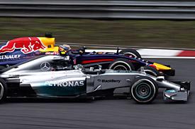 Mercedes, Red Bull, F1 2014