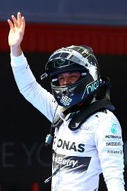Nico Rosberg Spanish Grand Prix
