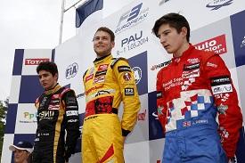 European F3 Pau Tom Blomqvist Esteban Ocon Jake Dennis