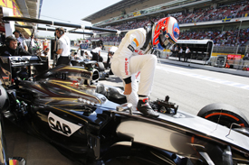 Button: struggles make me want to stay