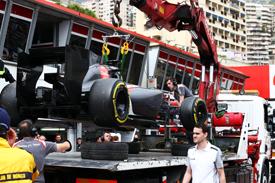 Adrian Sutil crash