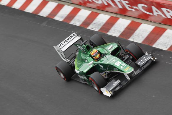 Rio Haryanto, Caterham, Monaco GP2 2014