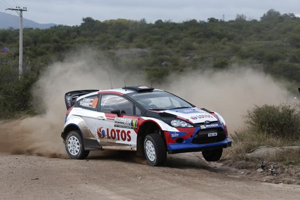 Robert Kubica, M-Sport Ford, Argentina WRC 2014