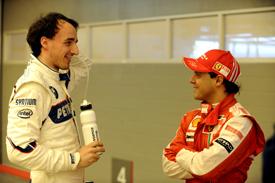 Robert Kubica and Felipe Massa