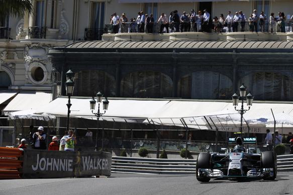 Nico Rosberg, Mercedes, Monaco GP 2014