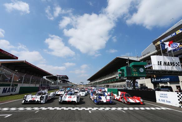 Le Mans 2014 line-up