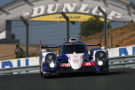 Toyota, Le Mans test day