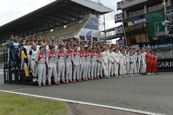2014 Le Mans 24 Hours driver photo