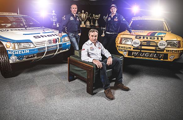 Peugeot's 2015 Dakar line-up