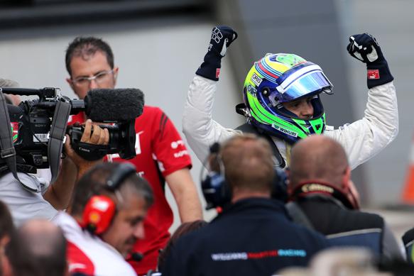 Felipe Massa takes Austrian GP pole 2014