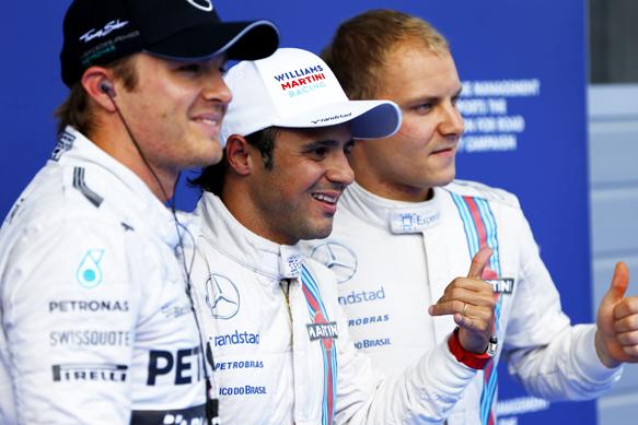 Mercedes: В Williams заслужили первый ряд стартовой решетки