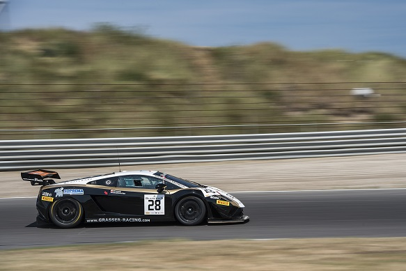 Jeroen Bleekemolen, Grasser Lamborghini, Zandvoort Blancpain Sprint Series