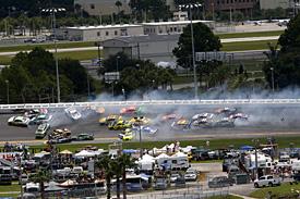 NASCAR crash at Daytona, 2014