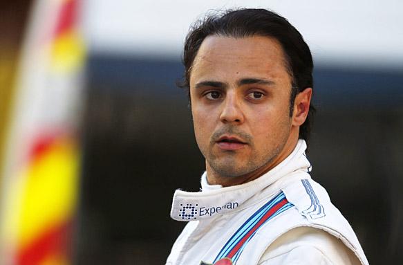 Фелипе Масса недоволен темпом Mercedes на прогревочном круге