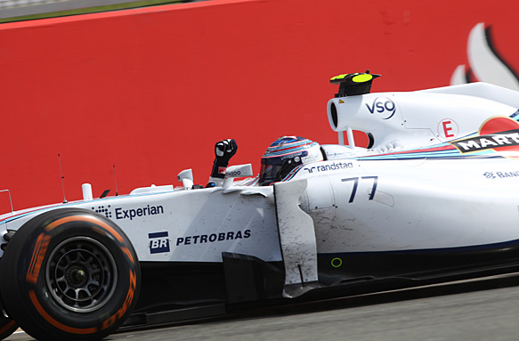 Valtteri Bottas, British GP 2014