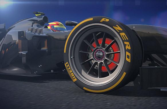 Pirelli reveals 18-inch F1 tyres