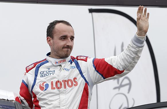 Robert Kubica, 2014