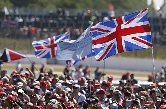 British Formula 1 fans