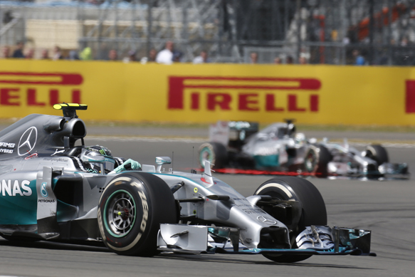 Double points unfair - Mercedes