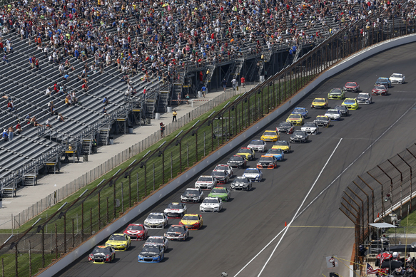 Gordon takes fifth Brickyard victory