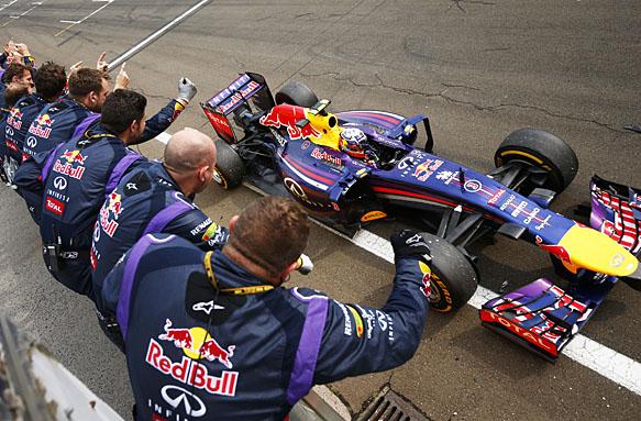 Daniel Ricciardo wins the Hungarian GP