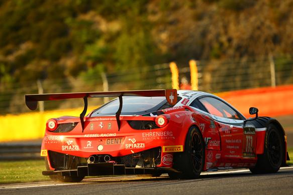 Kessel Ferrari, Spa 24 Hours 2014
