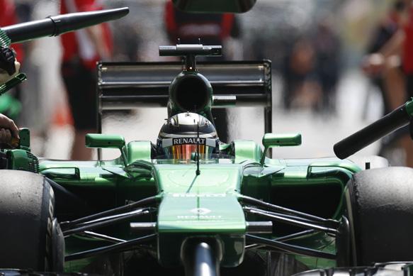 Kamui Kobayashi, Caterham, Hungarian GP 2014