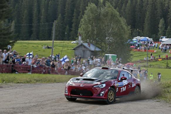 Toyota GT86, Rally Finland