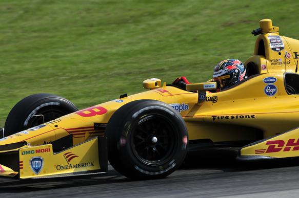Ryan Hunter-Reay, Andretti, Mid-Ohio IndyCar 2014