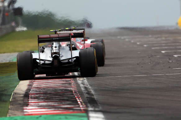Nico Rosberg, Mercedes, Hungarian GP 2014