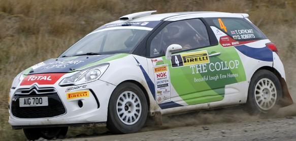 Timothy Cathcart, British Rally Championship 2014