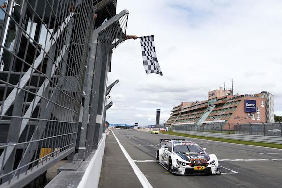 Marco Wittmann wins Nurburgring DTM 2014