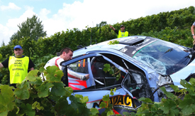 Thierry Neuville crash