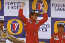 Alain Prost, 1986