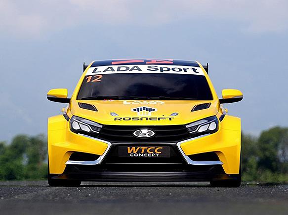 Lada's new WTCC challenger unveiled