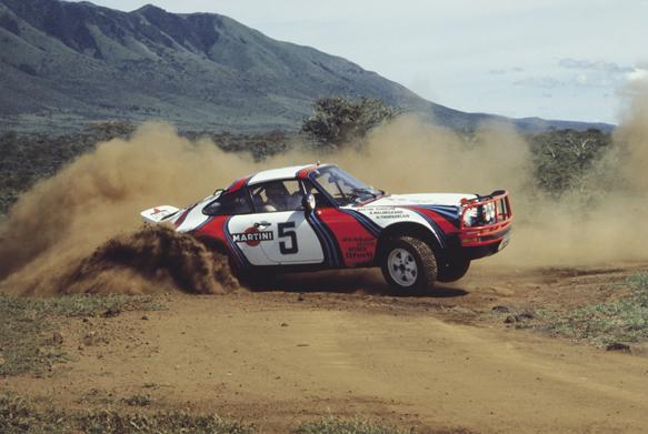 Bjorn Waldegaard, Porsche, Safari 1978