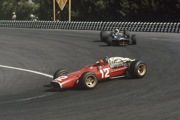 Jonathan Williams, Ferrari, Mexican GP 1967
