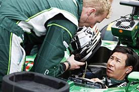 Kamui Kobayashi, F1 2014
