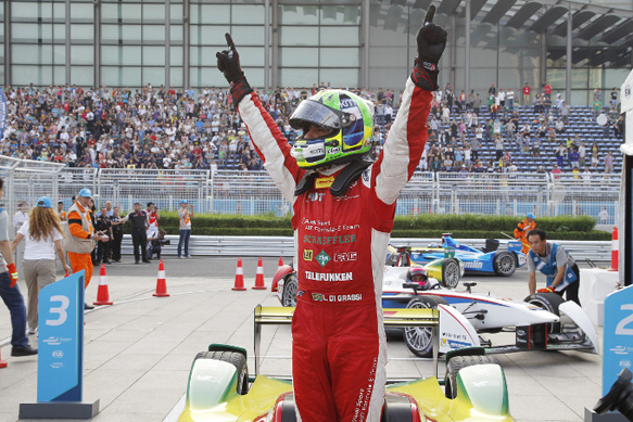 Lucas di Grassi wins Beijing Formula E 2014