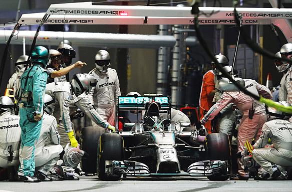 Nico Rosberg, Singapore GP 2014