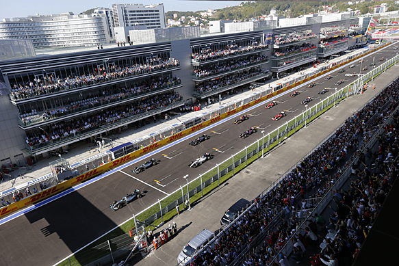 Russian GP start 2014