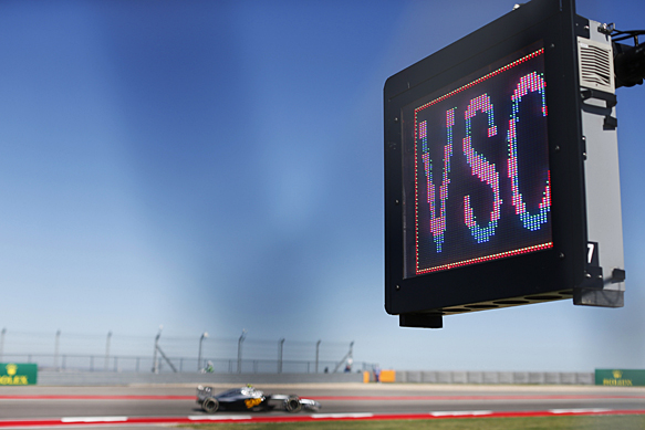 Virtual safety car gets thumbs up