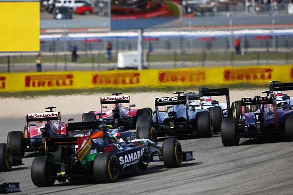 US GP start 2014, Austin