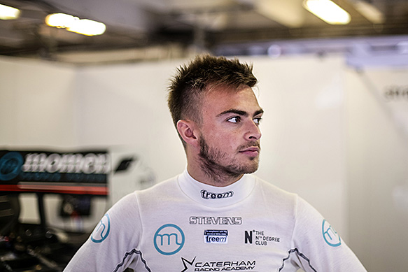 Stevens to race second Caterham