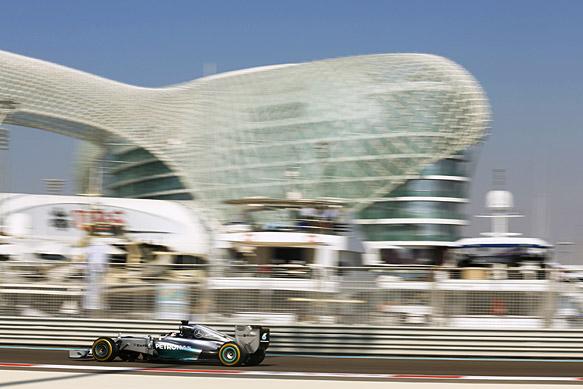 Hamilton fastest in first session