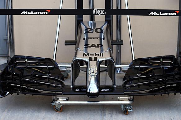 Analysis: McLaren's new front wing