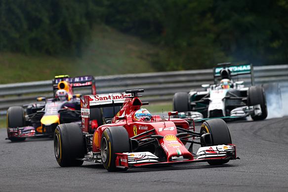 Red Bull, Ferrari eye new engine rules