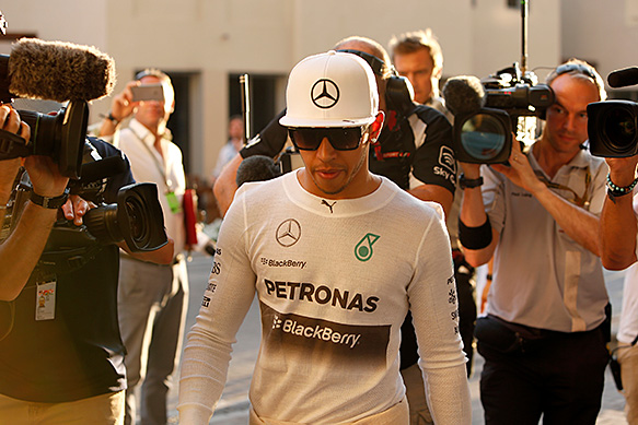 Hamilton unfazed by mind games