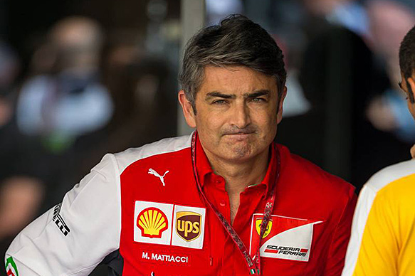 Ferrari replaces Mattiacci as team boss